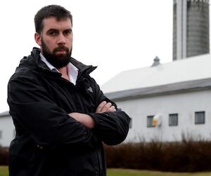 L'agriculteur Jean-Luc Laplante se dit secoué par les événements.
