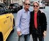 Les producteurs du spectacle de Belles-Soeurs à Broadway, Allan Sandler et Andy Nulman.