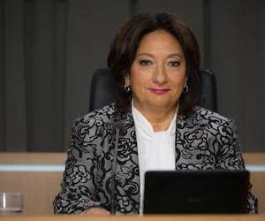 La juge France Charbonneau.