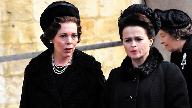 Elizabeth et Margaret (Helena Bonham Carter)