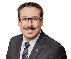 Le maire de Sherbrooke, Steve Lussier