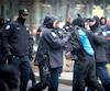 En 2011, une quinzaine de manifestants du mouvement Occupons Montréal, au square Victoria, ont été marqués à l'encre invisible.