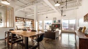 Un lumineux loft/condo du Mile-End à 815 000$