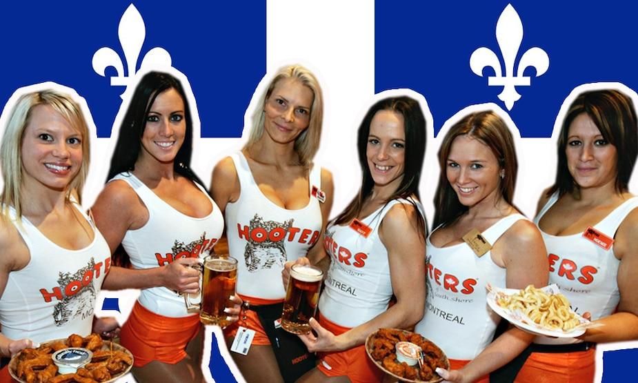 Image principale de l'article Les restaurants Hooters quittent le Québec