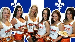 Les restaurants Hooters quittent le Québec