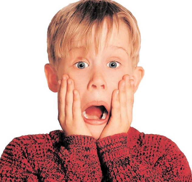 Macaulay Culkin dans une scène du film <i>Maman, j'ai raté l'avion</i>.