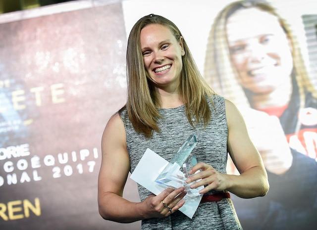 Karen Paquin, rugby.