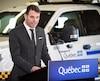 Le ministre des Transports du Québec François Bonnardel