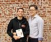 Corey Velan (à gauche) et Marty Algire ont fondé FixMeStick Technologies, qui arrive au 15<sup>e</sup> rang au Canada, mais au 1<sup>er</sup> rang au Québec des entreprises technologiques ayant connu la plus forte croissance.