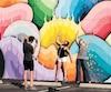 Space Rainbow de l'artiste Ricky Watts