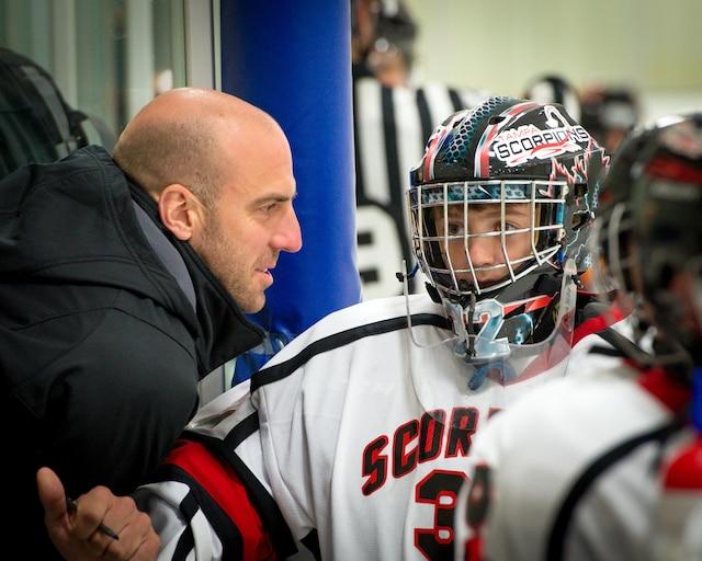 Mathieu Garon a un fils, Charles-Édouard, qui garde les buts pour une équipe de la région de Tampa et qui participera au prochain tournoi international pee-wee de Québec.
