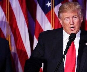 Donald Trump a prononcé son discours de la victoire vers 2 h 50 dans la nuit de mardi à mercredi.