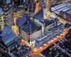 Le nouveau siège social londonien de SNC-Lavalin, dont les plans ont été dévoilés le 28mars 2018. L'édifice regroupera la plupart des employés britanniques de l'entreprise.
