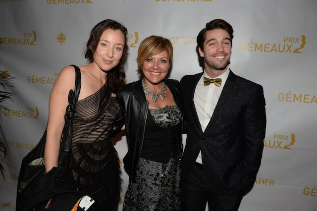 Maude Laurendeau, Marie-Chantal Perron et Joey Scarpellino.