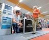 Dans ses magasins, comme celui-ci en Belgique, Décathlon mise beaucoup sur les conseils techniques pour se démarquer de ses concurrents.