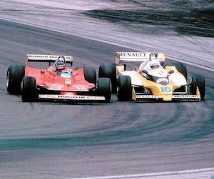 Gilles Villeneuve et René Arnoux se sont livré un duel mémorable en 1979.