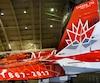 Le CF-18 aux couleurs du 150e anniversaire de la Confédération n'est que l'un des multiples appareils qui seront accessibles aux visiteurs lors du prochain Spectacle aérien international de Bagotville, qui se tiendra les 24 et 25 juin prochains.