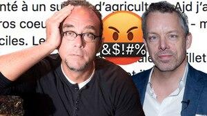 François Lambert et Stéphane Gendron s'insultent