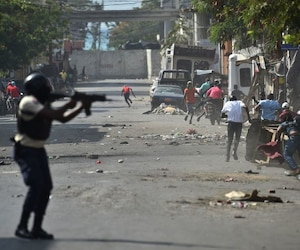 HAITI-POLITICS-PROTEST