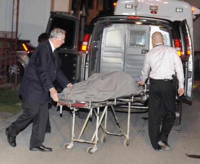 Un drame c'est produit au 15 rue Foisy � L�vis jeudi le 3 Mai 2012 pr�s de Qu�bec. Un enfant serait mort par arme � feu. (BENOIT GARIEPY/JOURNAL DE QUEBEC/AGENCE QMI)