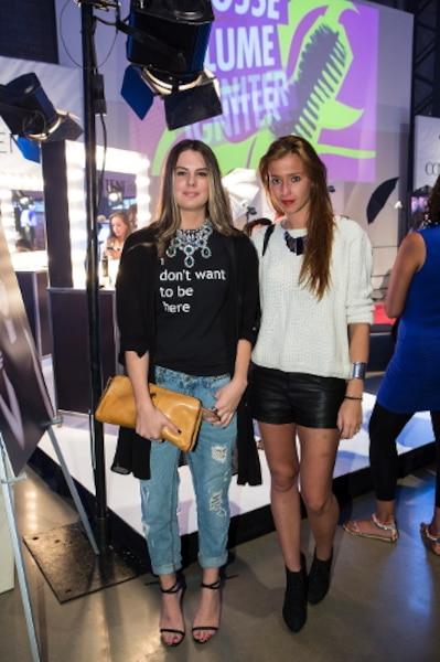 «La mode, c'est un mode de vie», ont confié Renée Piquette et Karina Beloblotfski.
