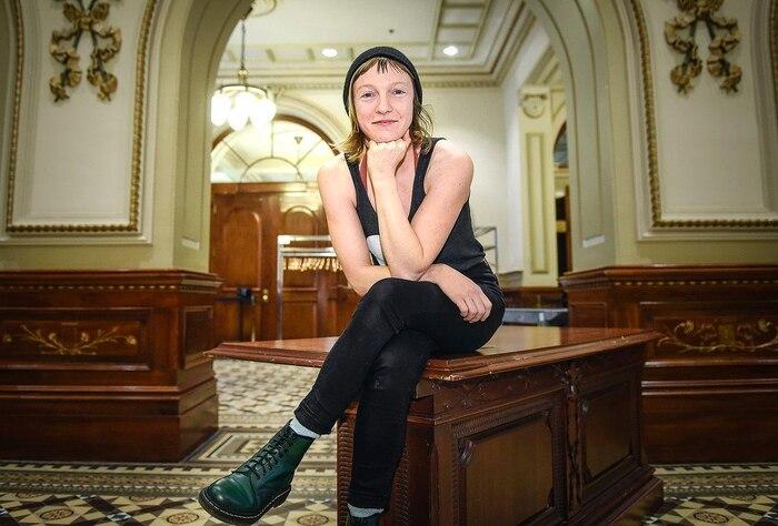 La députée de Taschereau, Catherine Dorion