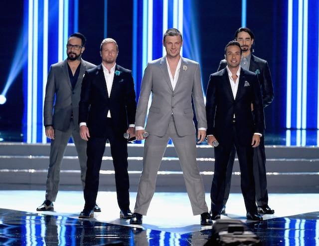 Les Backstreet Boys en performance