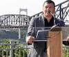 Jacques Desbois est le représentant de la Société de valorisation du pont de Québec.