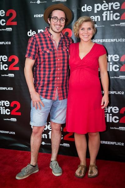 Brian Audet et Véronique Claveau