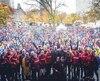 Tenue pour la première fois à Montréal et à Saguenay l'an dernier, la Grande marche, événement phare de l'initiative du Grand défi Pierre Lavoie (GDPL) et de la Fédération des médecins omnipraticiens de prescrire l'activité physique à leurs patients, s'arrêtait dans la Vieille Capitale pour la première fois.