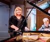 Kathleen Fortin et Stéphane Aubin présenteront le spectacle Les 4 saisons d'André Gagnon les 30 novembre, 1er et 2 décembre à la Cinquième salle de la Place des Arts.