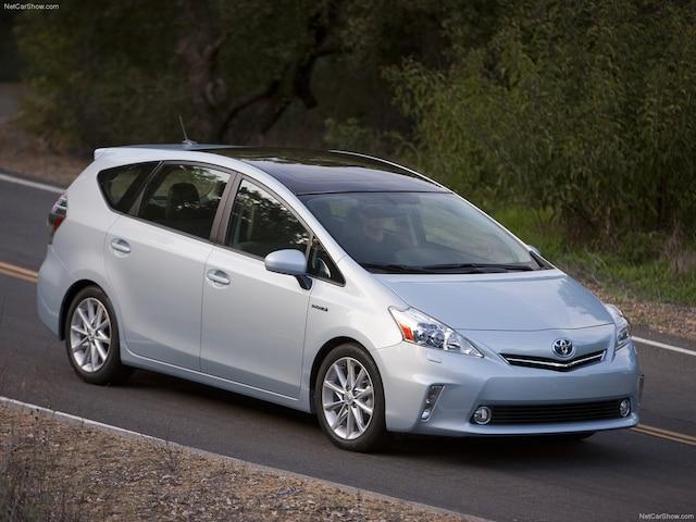 Dans la même lignée, Toyota présente la Prius V.