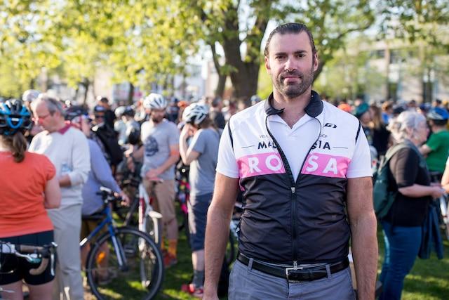 L'organisateur de l'événement Marc-Antoine Desjardins.