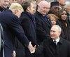 Vladimir Poutine a qualifié de «bonne» la qualité de la discussion avec son homologue américain, selon l'agence de presse russe Ria Novosti.