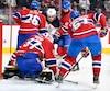 Le Canadien a conclu une semaine pénible avec une défaite de 6 à 2 contre les Oilers d'Edmonton, samedI au Centre Bell.