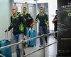 Plusieurs coureurs sont arrivés à l'aéroport Jean-Lesage, mardi après-midi.