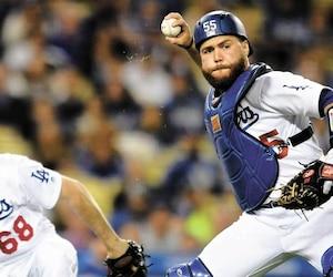 Russell Martin a bon espoir de rafler les grands honneurs avec les Dodgers.