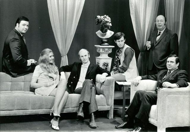 1969<br /> Serge Bélair, Micheline  Sénécal, René Homier-Roy,  Jean-Claude Lord, Jacques  Matti et René Ferron.