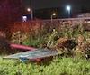 Une embardée à haute vitesse est survenue rue Antoine-Silvy, dans le secteur Limoilou, dans la nuit de samedi à dimanche.