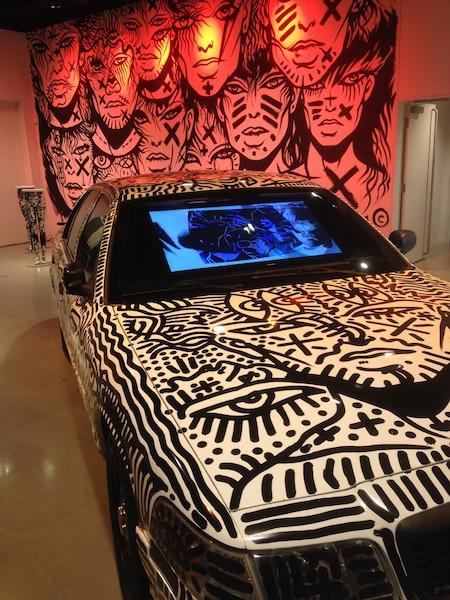 Des installations ont été élaborées au Centre d'art Diane-Dufresne.