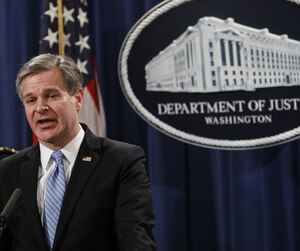 Christopher Wray, directeur du FBI.