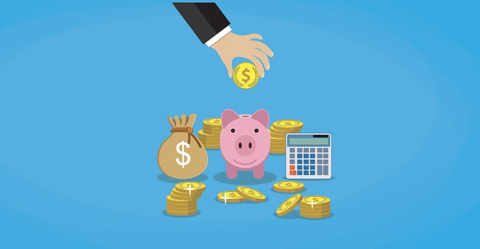 Bloc économie épargne argent