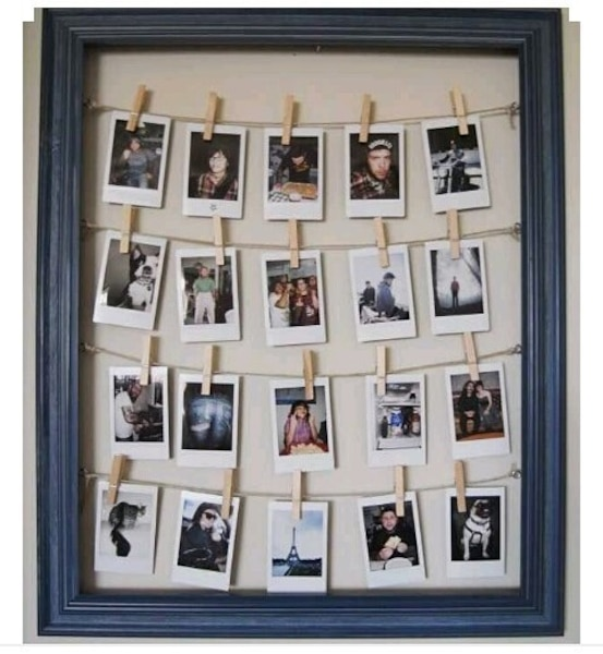 16 cadeaux de no l offrir tes proches quand tu n 39 as - Idee cadre photo a faire soi meme ...
