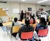 L'organisme Ressource-Action-Alimentation à Montréal fournit aux demandeurs d'asile indiens des cours de francisation.