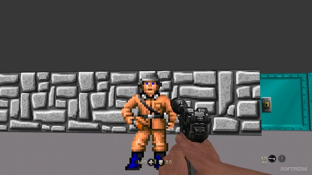 Un rêve nous ramène dans l'aventure de Wolfenstein 3D de  1992.