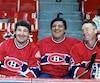 Guy Lapointe (à gauche) a été le seul membre du Big Three à être ignoré dans la liste des 100 meilleurs joueurs de l'histoire de la LNH.