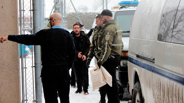 William Trépanier Provencher, Dominic Vigneault (photo) et Éric Lacombe font partie des neuf personnes accusées jeudi à Victoriaville.