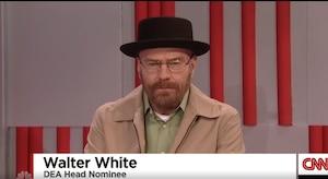SNL: Trump choisit Walter White pour son cabinet