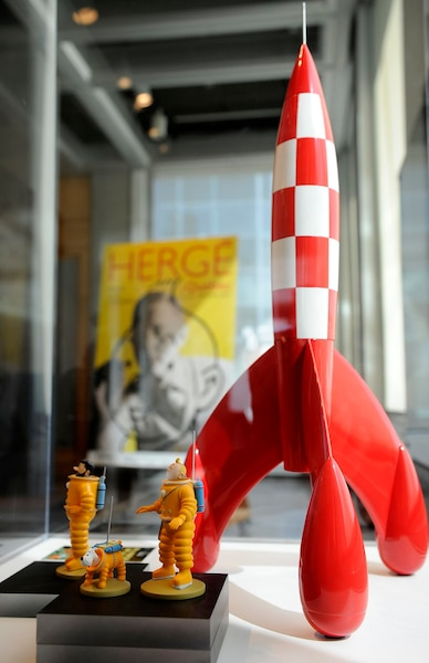 L'exposition Hergé atterrira au Musée de la civilisation en juin prochain.