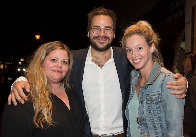 Geneviève Schmidt, Sébastien Huberdeau et Noémi Yelle